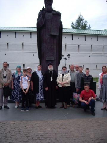 Паломническая поездка в Троицко-Сергиевскую Лавру.