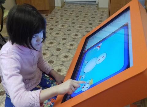 """Интерактивный стол - уникальная система обучения """"особенных"""" детей"""