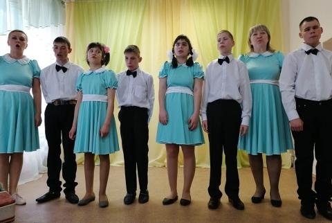 Концерт к Всемирному дню социальной работы