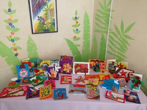 Конкурс рисунков и открыток к 9 Мая