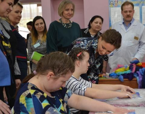 Визит омбудсмена А.Ю. Кузнецовой