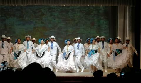 Выступают мексиканские артисты