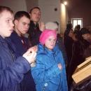 Молебен блаженной Матроне Московской