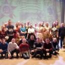 На концерте ансамбля «Русь»