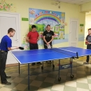 Отборочные соревнования по настольному теннису