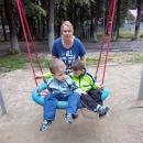 Посещение детской площадки